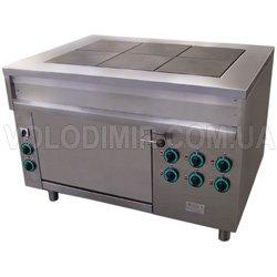 Плита электрическая шестиконфорочная с жарочным шкафом