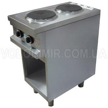 Плита электрическая двухконфорочная на подставке с круглыми конфорками EGO