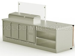Модуль 1. Холодильные гастроемкости, холодильник с ящиками