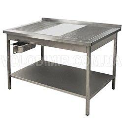 Нержавеющий стол для обработки мяса