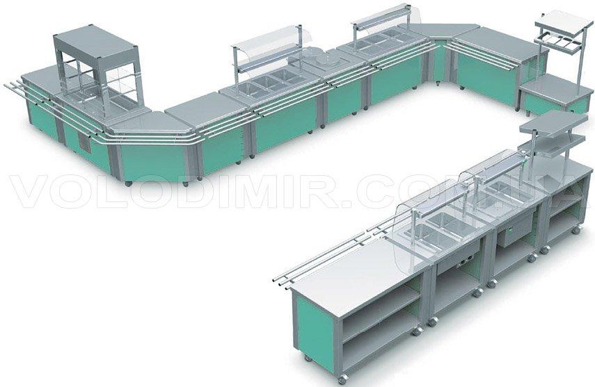 Оборудование для шведского стола