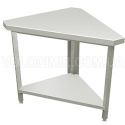 Угловой стол (внутренний угол 90°)