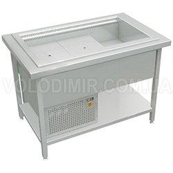 Прилавок холодильный с воздухоохладителем