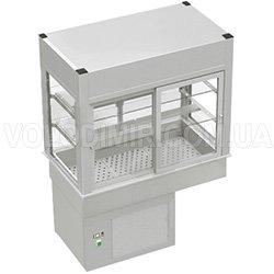 Витрина холодильная с откидными заслонками