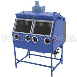 Камера дробеструйная полуавтоматическая для чистовой обработки изделий
