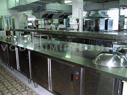 Тепловые столы и тумбы с инфракрасным подогревом поверхности столешницы